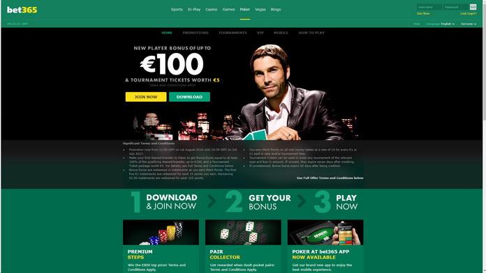 бет365 покер