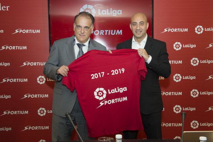 Sportium останется спонсором Ла Лиги