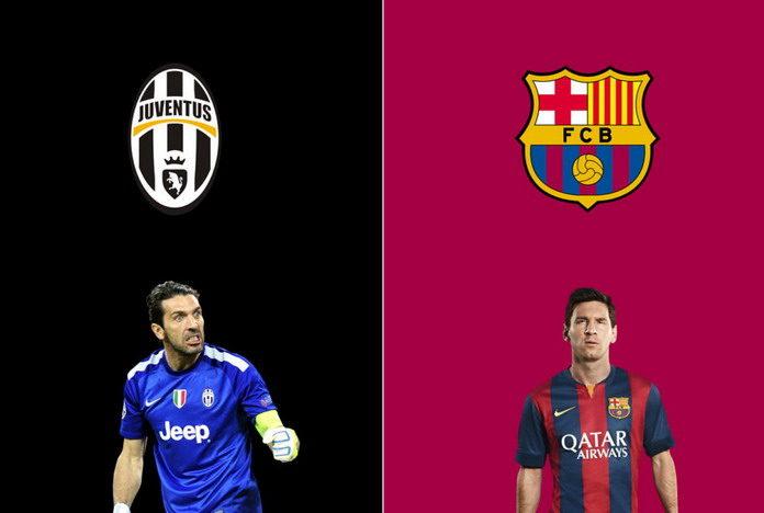Ювентус - Барселона товарищеский матч