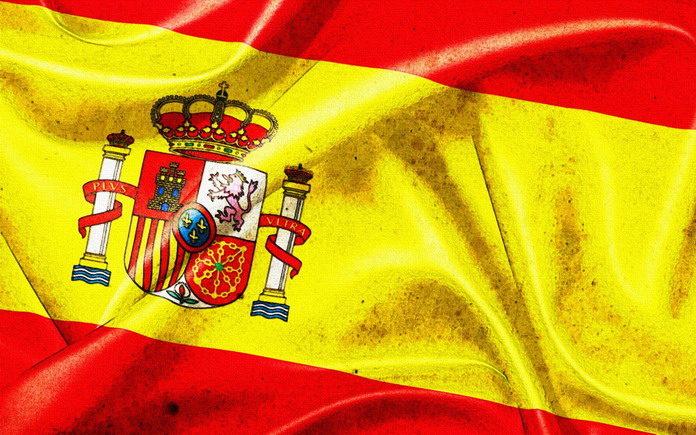 флаг государства Испании