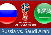 Россия vs Саудовская Аравия